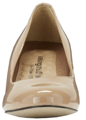 Joy: Nude Patent Leather