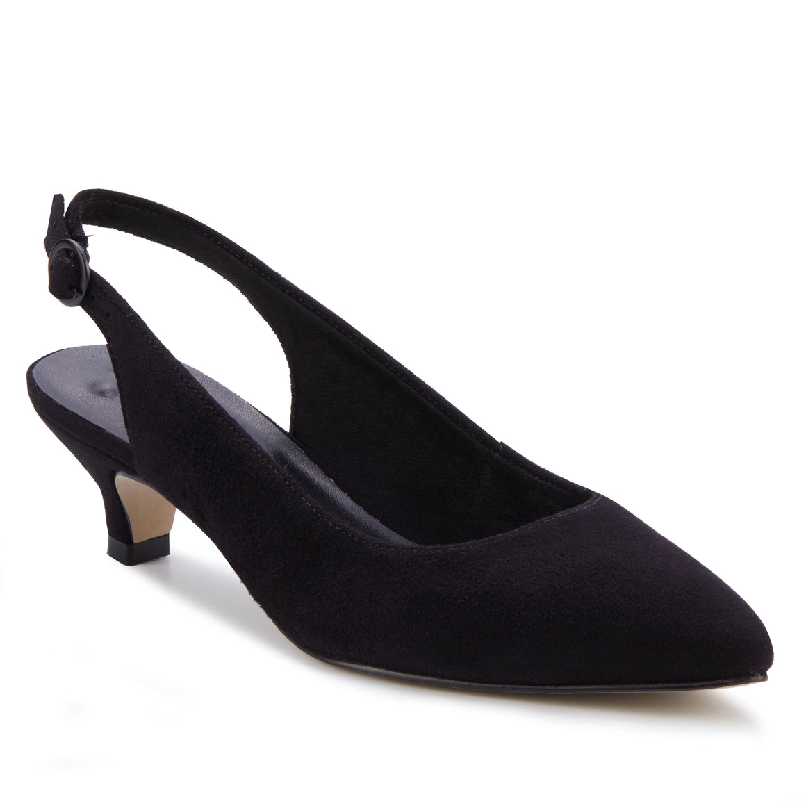 Belle: Black Suede NEW