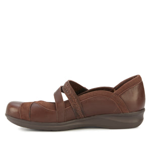 Clover Casual: Brown Nappa Leather and Nubuck