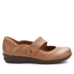 Clover Casual: Warm Taupe Nappa Leather and Nubuck NEW