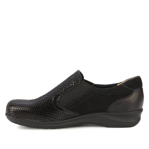 Cormick: Black Patent Snake/Nubuck/Leather NEW