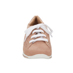 Destin Lace-up Sneaker in Petal Perfed Nubuck