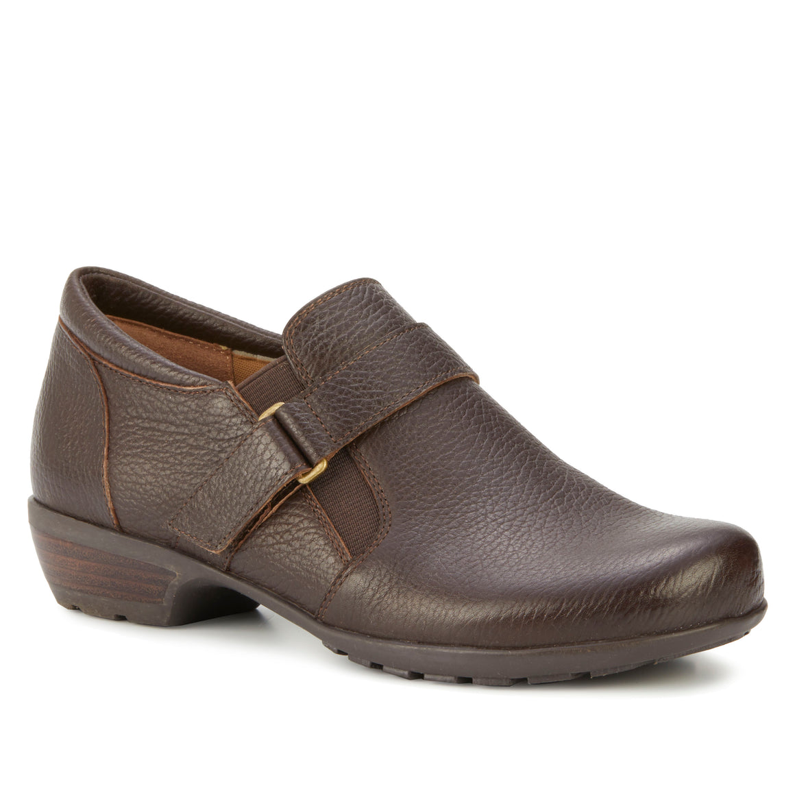 Eliot: Brown Tumbled Leather NEW