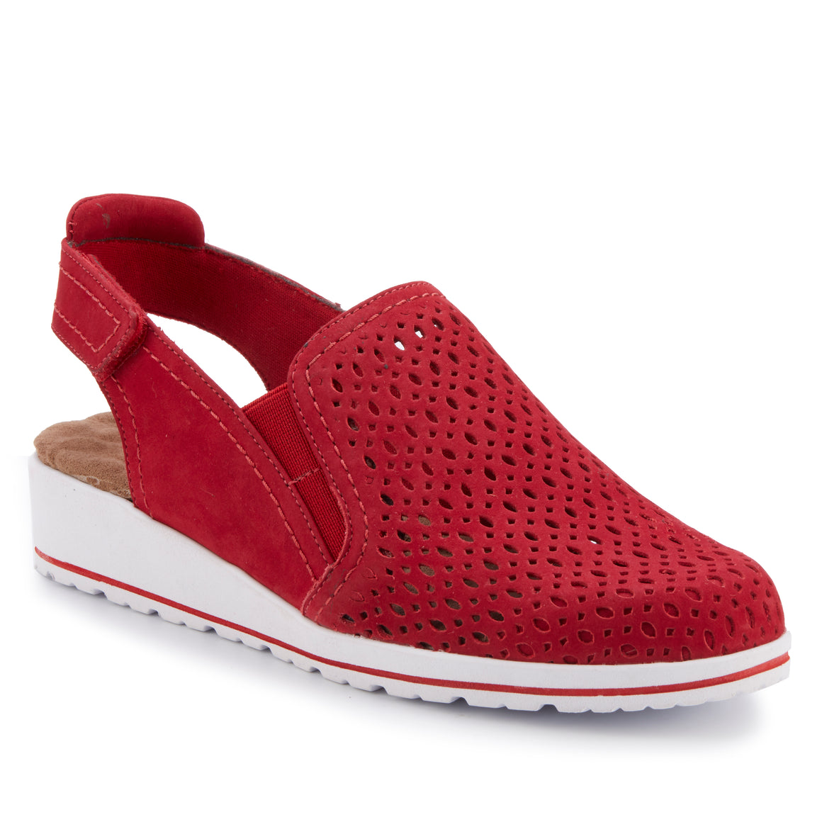 Faulkner: Red Nubuck NEW