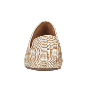 Foster: Gold Woven Leather NEW