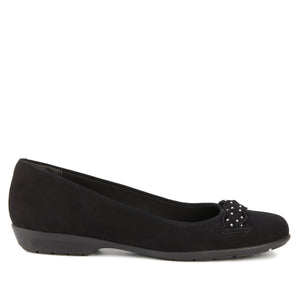 Francesca: Black Nubuck NEW