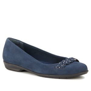Francesca: Navy Nubuck NEW