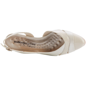 Hattie: Bone Buhler Snakeskin/Bone Patent NEW