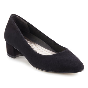 Heidi: Black Suede NEW