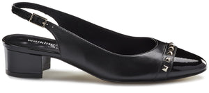 Hildee: Black Leather/Patent