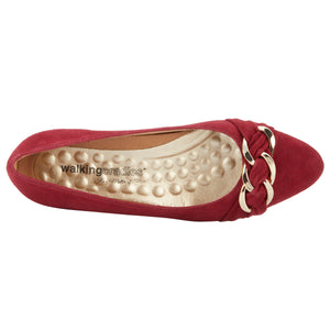 Hutton: Cranberry Suede NEW