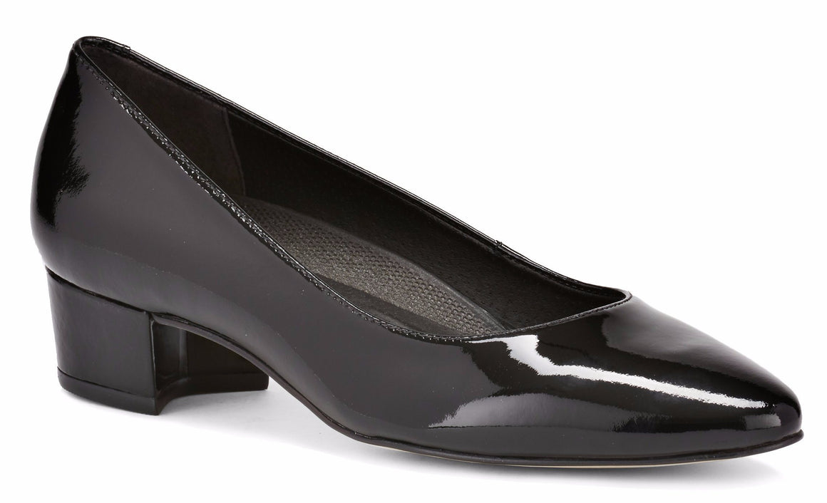 Heidi: Black Patent Leather