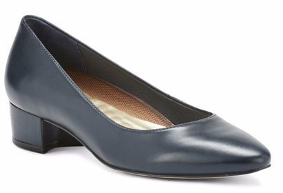 Heidi: Navy Leather