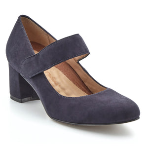 Jackie-2: Navy Suede NEW