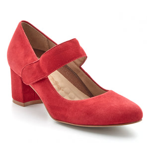 Jackie-2: Red Suede NEW