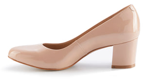 Jessica Pump: Blush Patent Leather BOUTIQUE COLLECTION