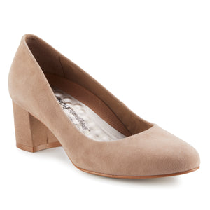 Jessica: Light Taupe Suede NEW