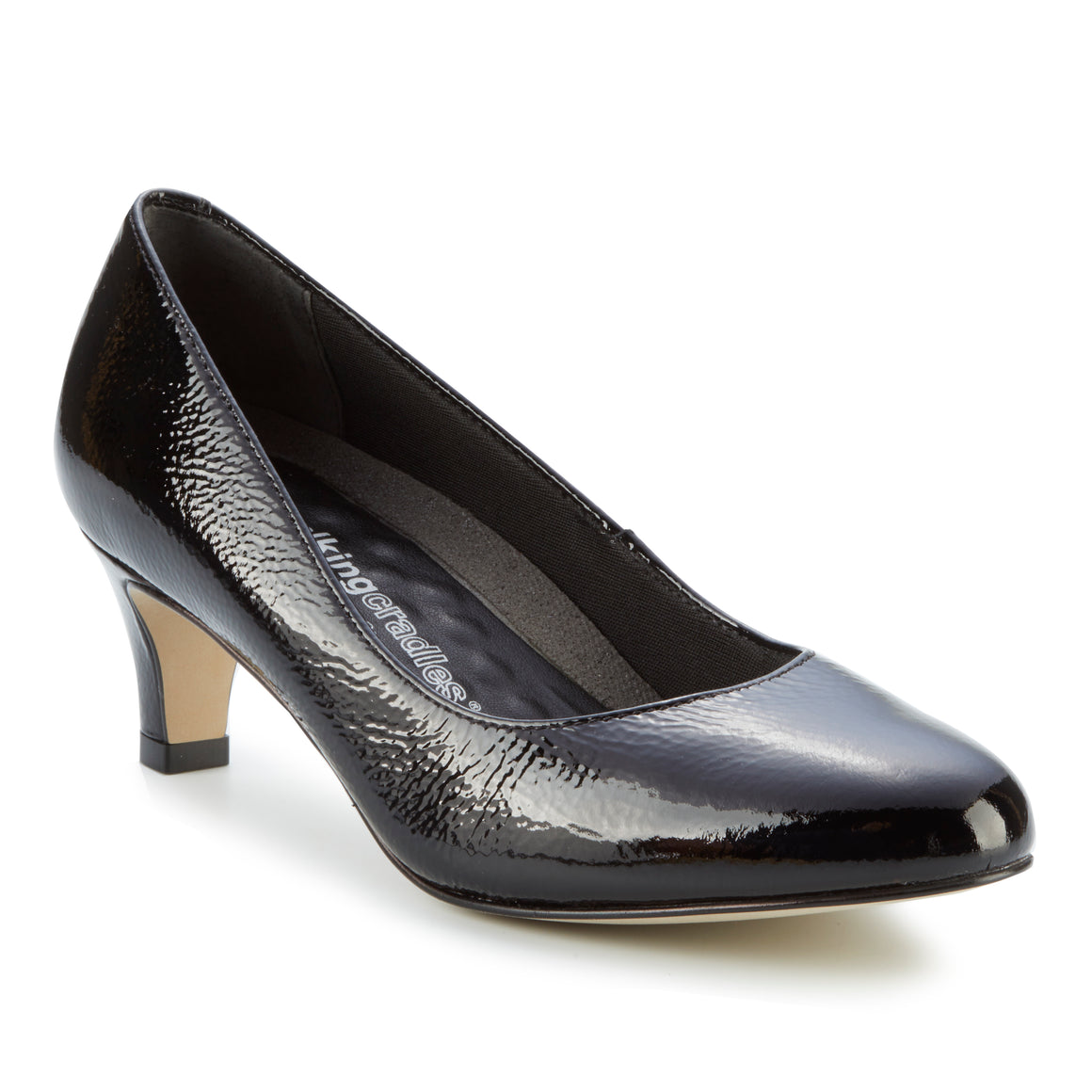 Joy: Black Tumbled Patent NEW
