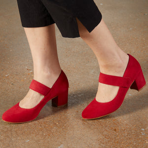 Jackie-2: Red Suede
