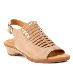 Karina: Cipria Metallic Suede NEW