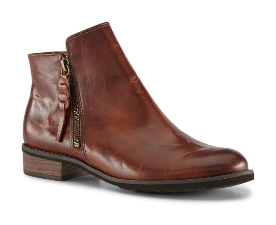 Kason: Chestnut Rustic Leather NEW