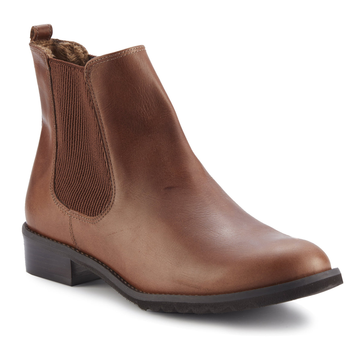 Kendall: Chestnut Rustic Leather RESTOCKED