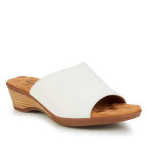 Kerry: White Leather RESTOCKED