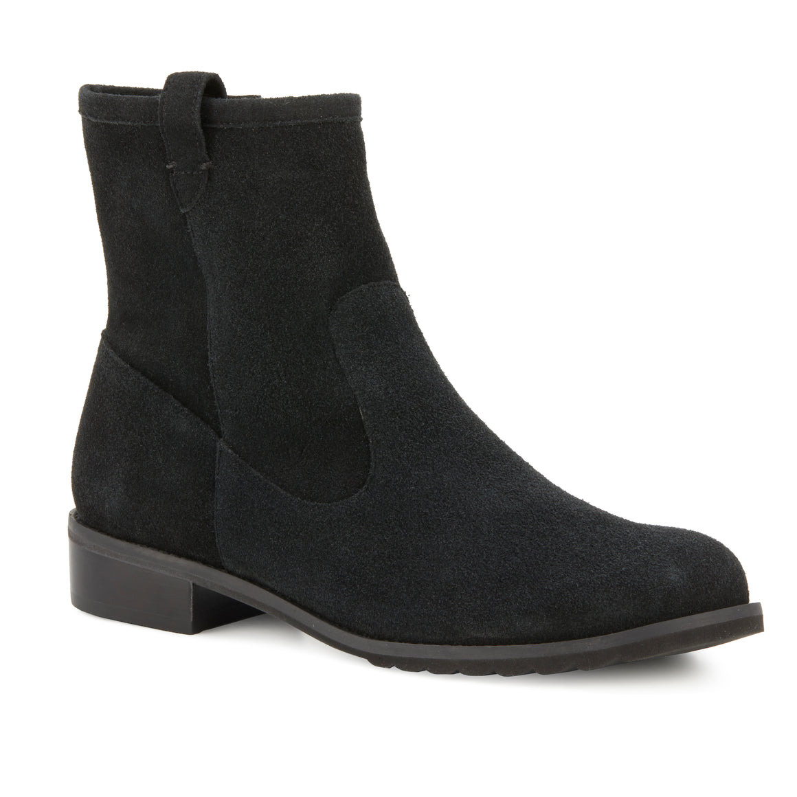 Kimber Bootie: Black Suede NEW