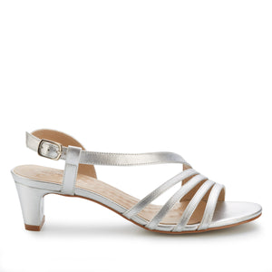 Lettie: Bright Silver Soft Metallic NEW