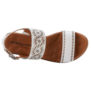 Liberty: White Moroccan Leather NEW