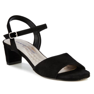 Lydia: Black Suede NEW
