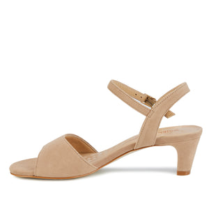 Lydia: Light Taupe Suede LIMITED STOCK