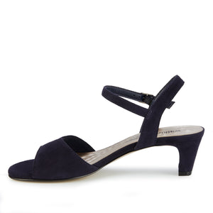 Lydia: Navy Suede NEW