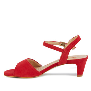 Lydia: Red Suede NEW