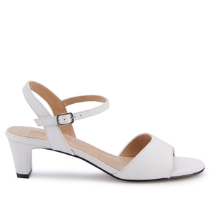 Lydia: White Cashmere Leather NEW
