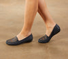 Mick: Navy Antique Silky Leather NEW