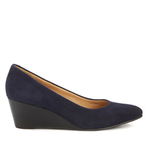 Molly: Navy Suede NEW