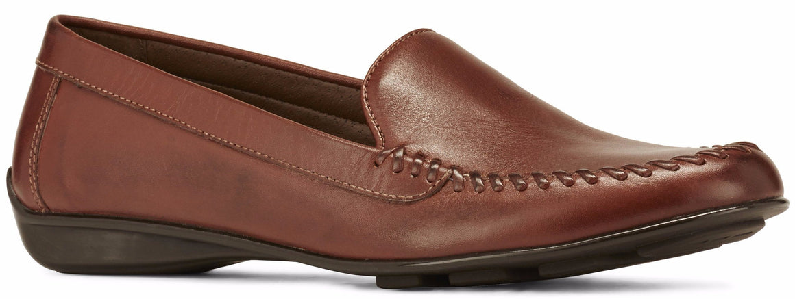 Mercer: Tobacco Leather