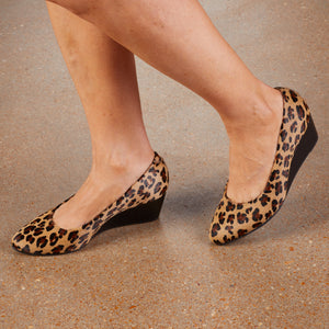 Molly: Baby Leopard Calf Hair NEW