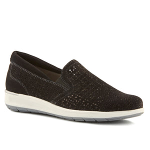 Orleans: Black Perfed Nubuck NEW