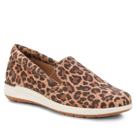 Orleans: Leopard Print Nubuck Leather BOUTIQUE COLLECTION