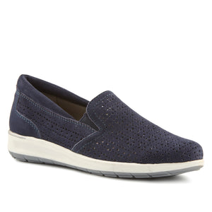 Orleans: Navy Perfed Nubuck NEW