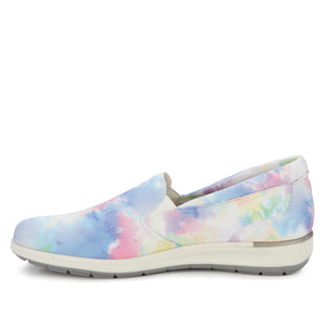 Orleans Slip-On Sneaker: Tie Dye Multi Stretch Fabric NEW