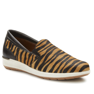 Orleans Tiger Stripe Slip-On Sneaker