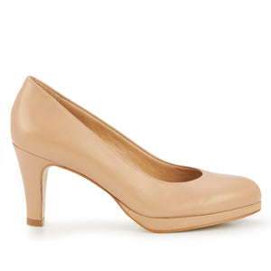 Payton: Nude Leather NEW
