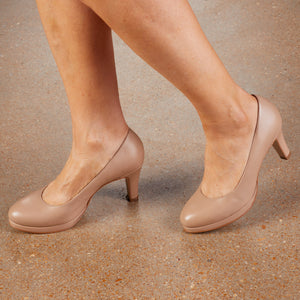 Payton: Nude Leather LIMITED STOCK