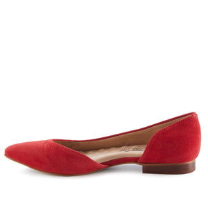 Raya: Red Suede NEW