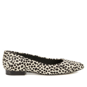 Reece: Ivory Mini Cheetah Print NEW