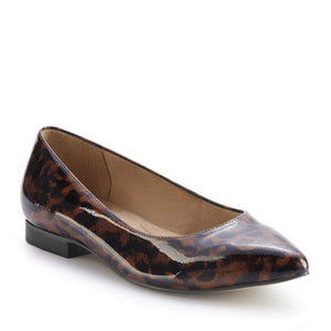 Reece: Leopard Patent Leather NEW