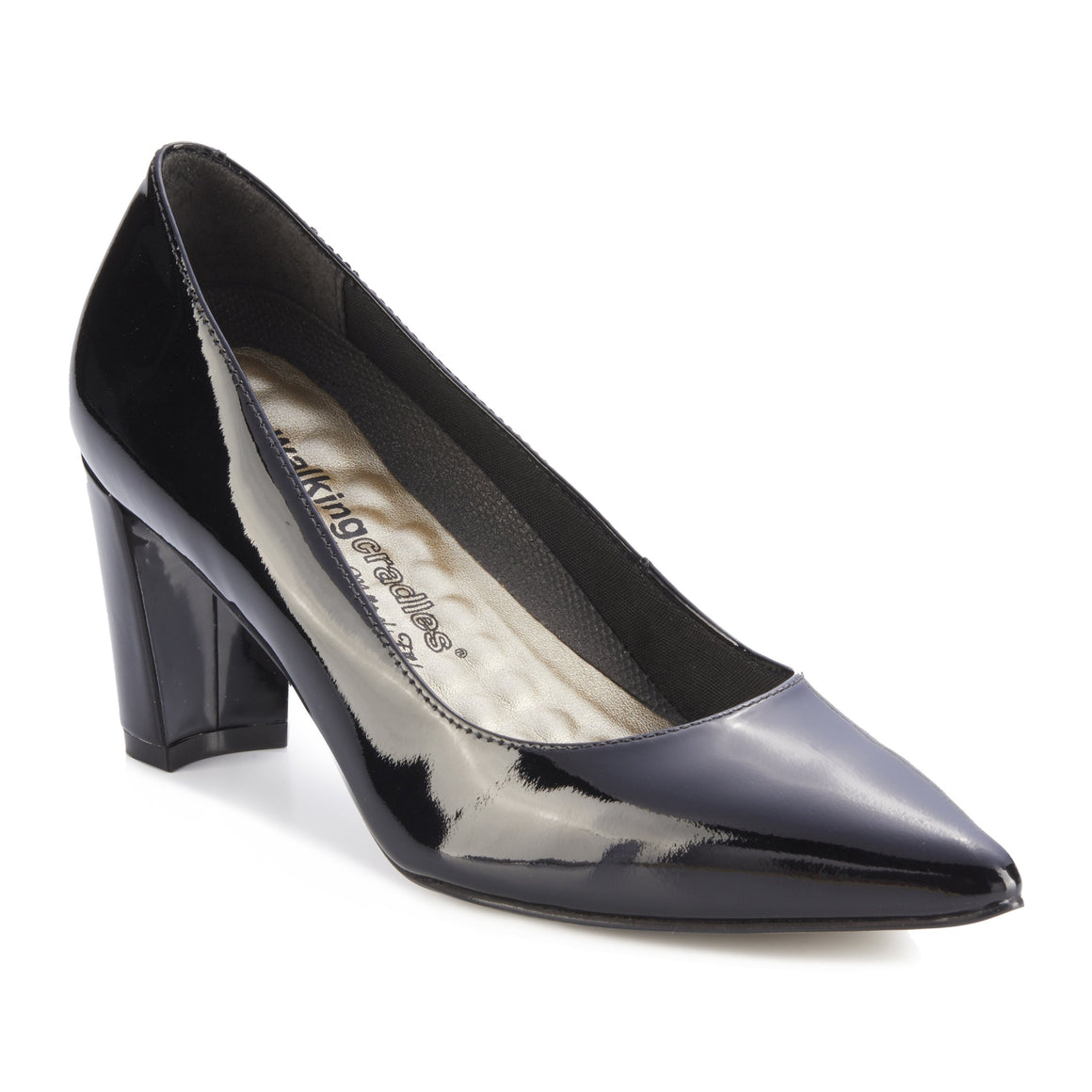 Samantha: Black Patent Leather NEW